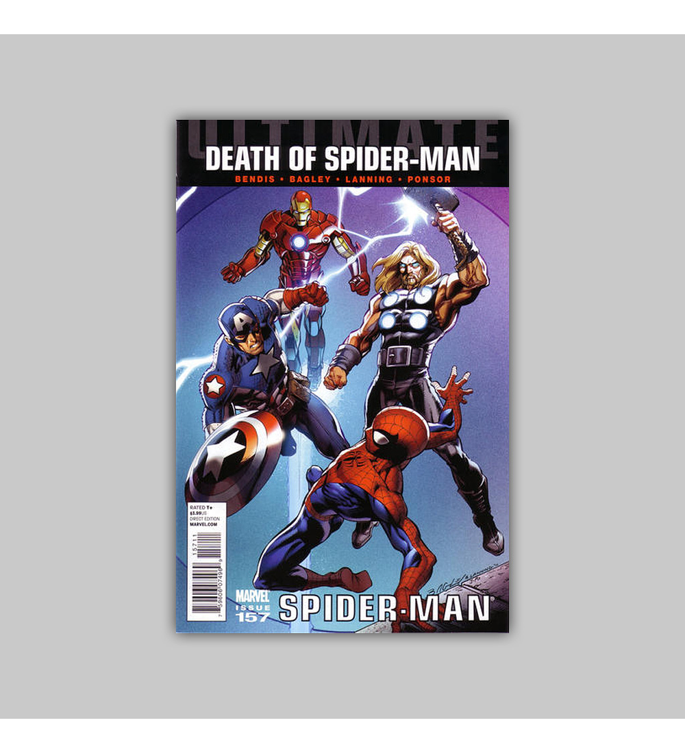 Ultimate Comics Spider-Man 157 2011