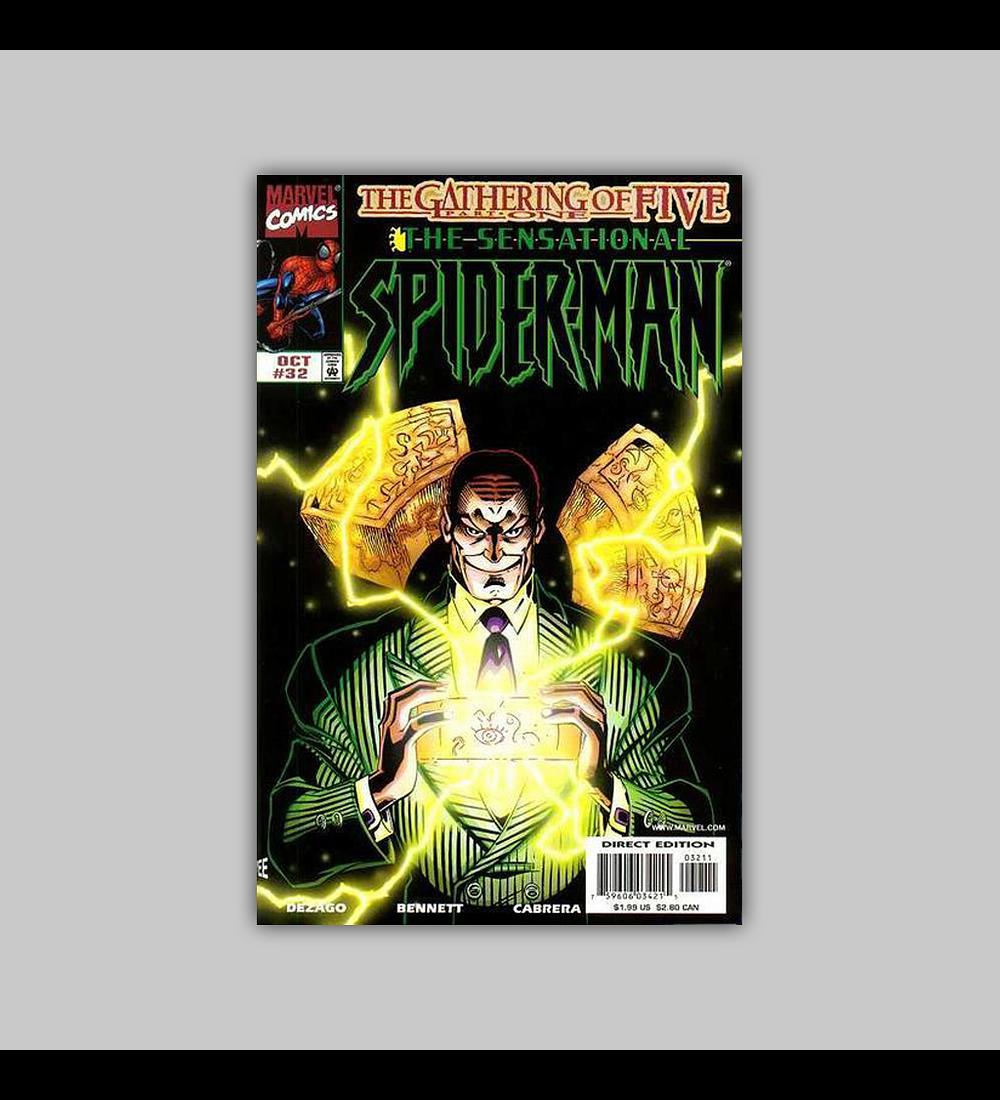 The Sensational Spider-Man 32 1998