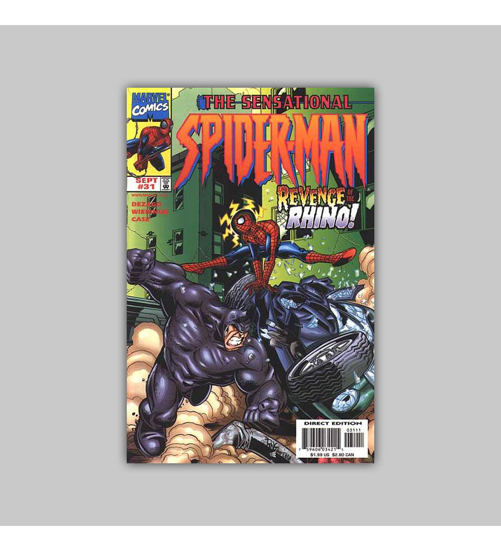 The Sensational Spider-Man 31 1998