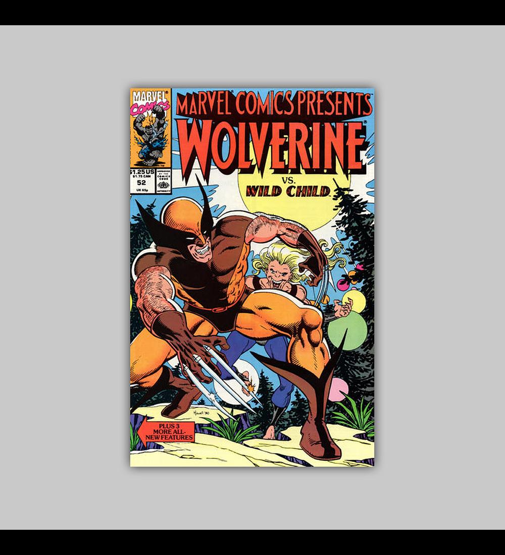 Marvel Comics Presents 52 1990