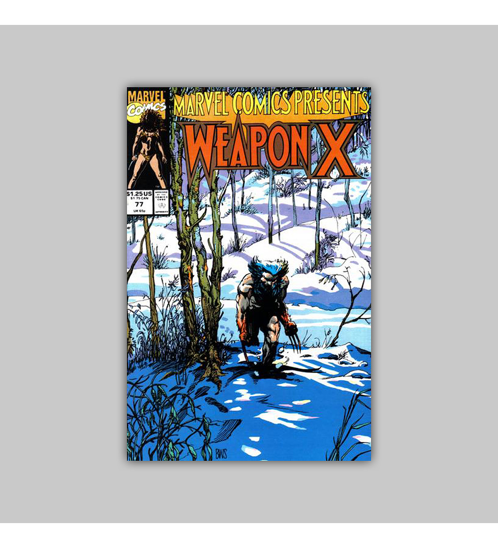 Marvel Comics Presents 77 1991