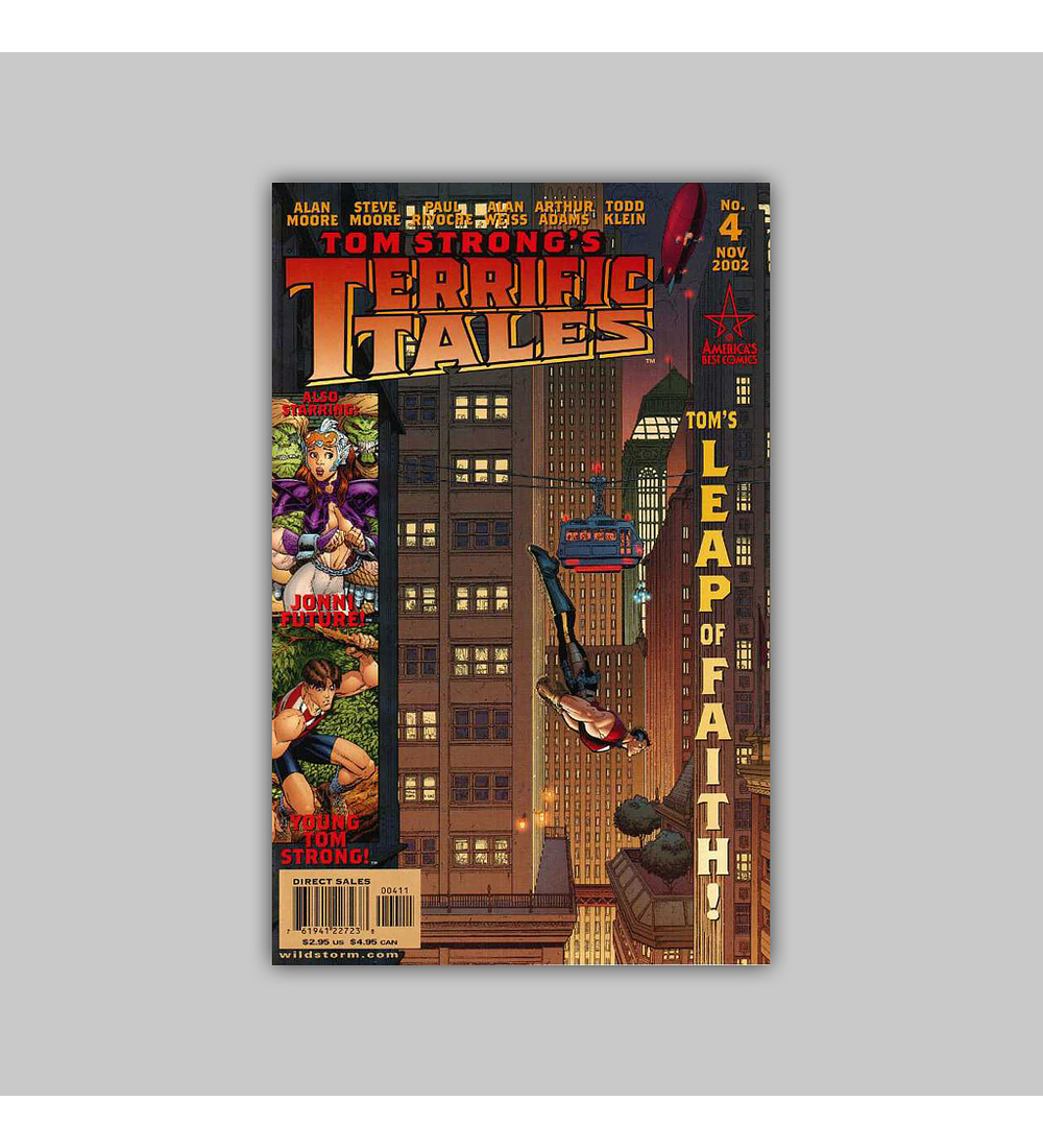 Tom Strong's Terrific Tales 4 2002