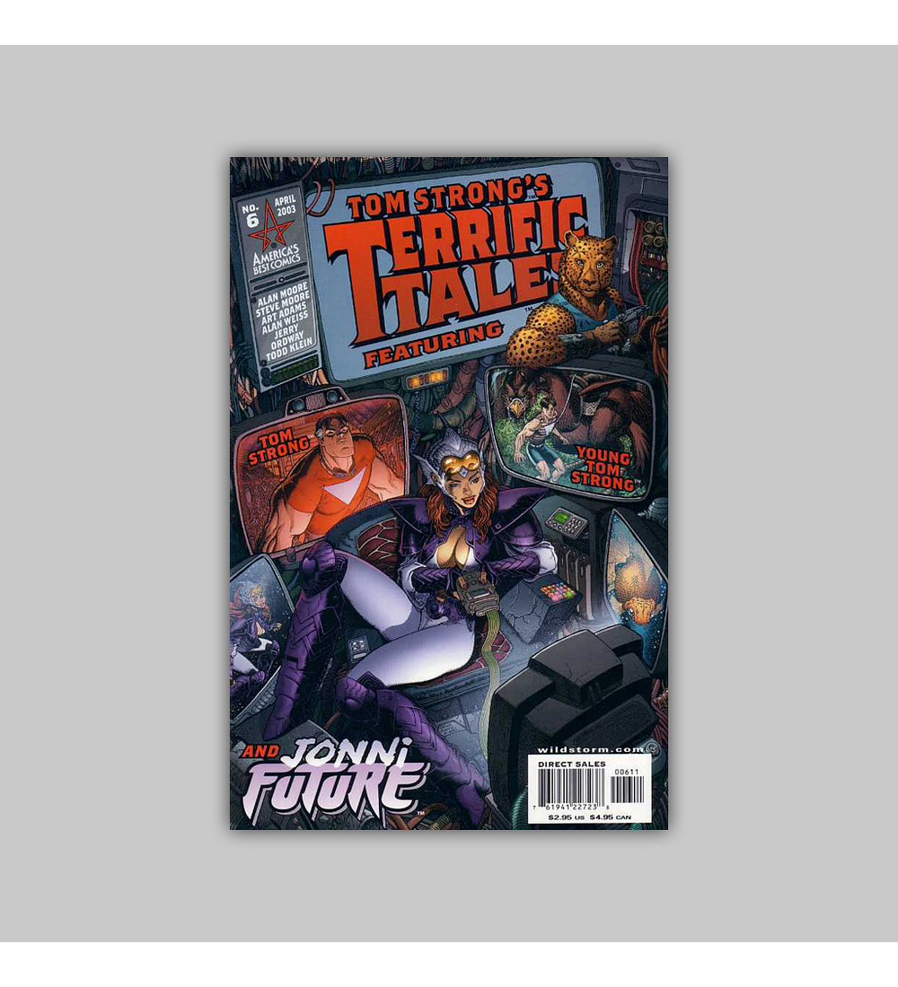 Tom Strong's Terrific Tales 6 2003