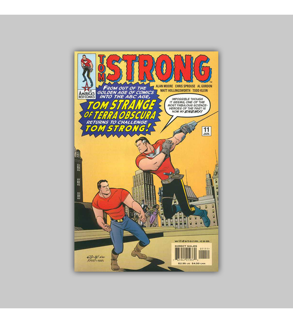 Tom Strong 11 2001