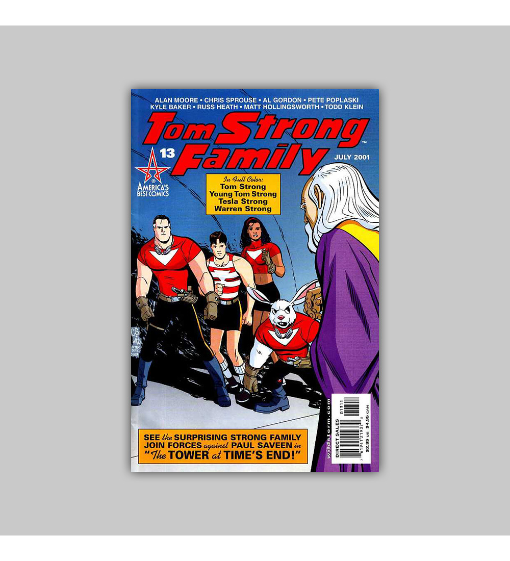 Tom Strong 13 2001
