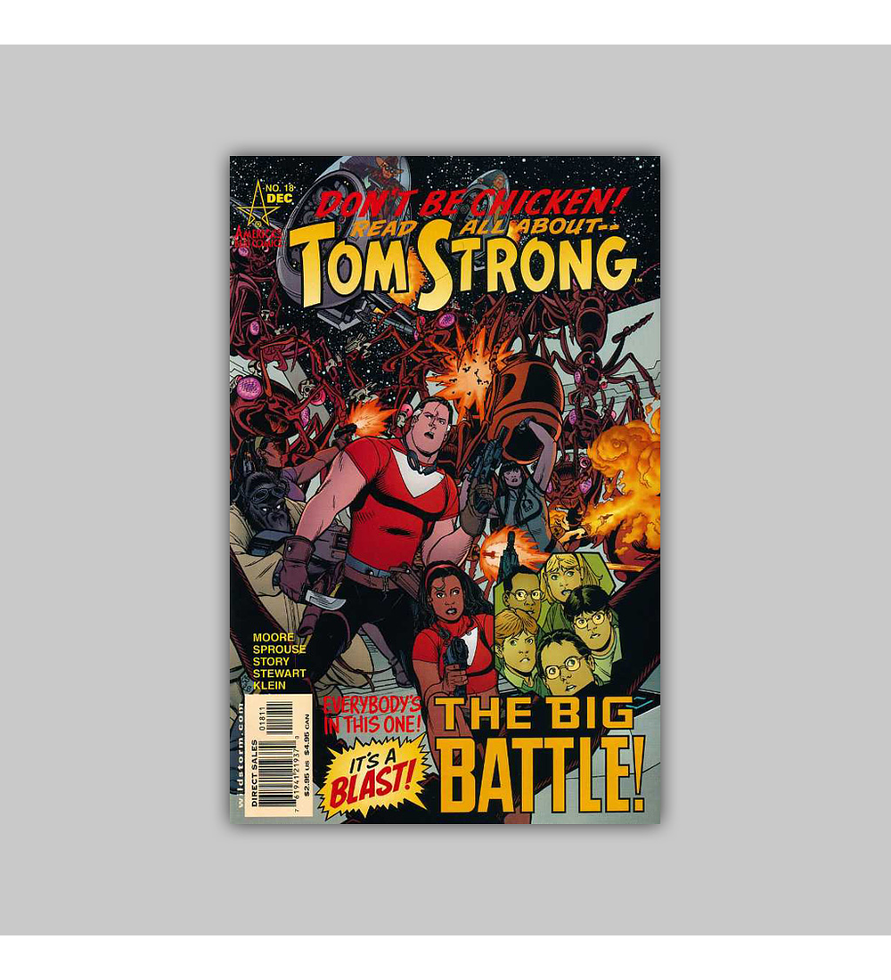Tom Strong 18 2002