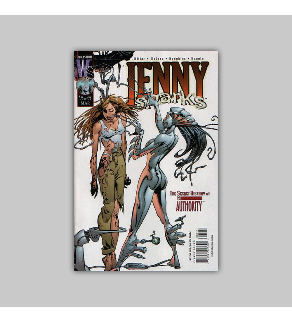 Jenny Sparks: The Secret History of the Authority 5 2001