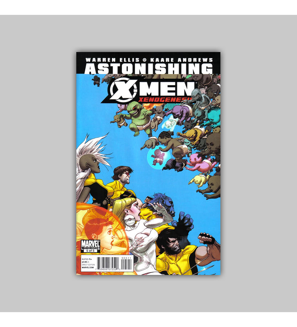Astonishing X-Men: Xenogenesis 5 2010