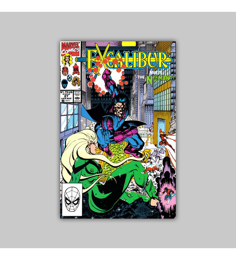 Excalibur 27 VF/NM (9.0) 1990