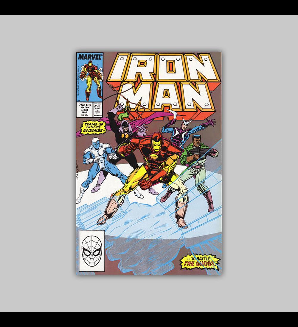 Iron Man 240 1989