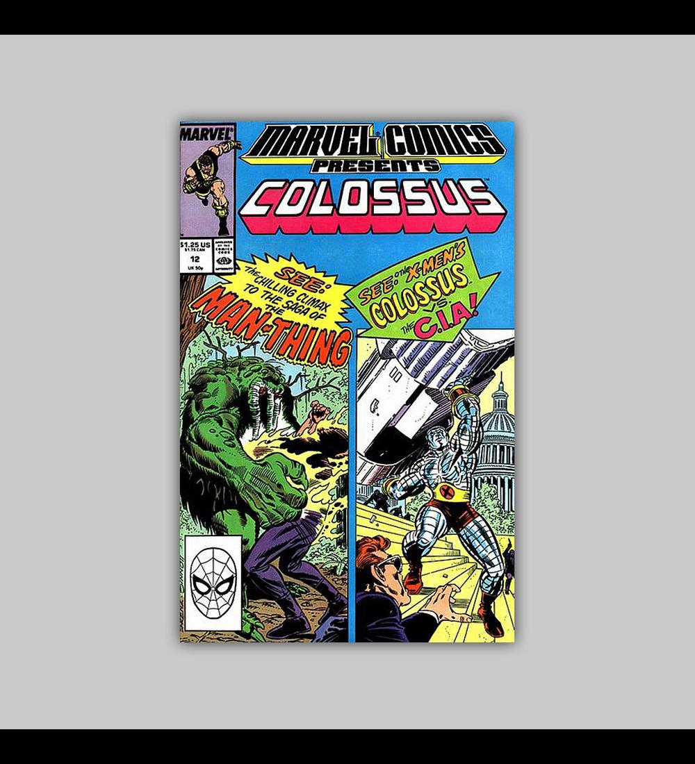 Marvel Comics Presents 12 1989