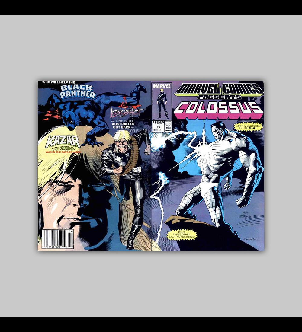 Marvel Comics Presents 16 1989