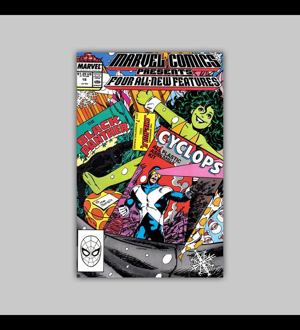 Marvel Comics Presents 18 1989