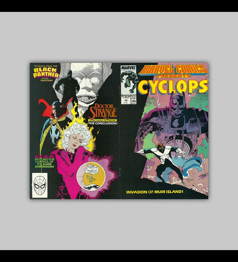Marvel Comics Presents 20 1989
