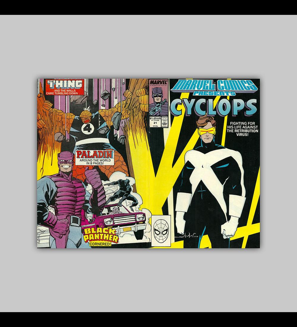 Marvel Comics Presents 21 1989