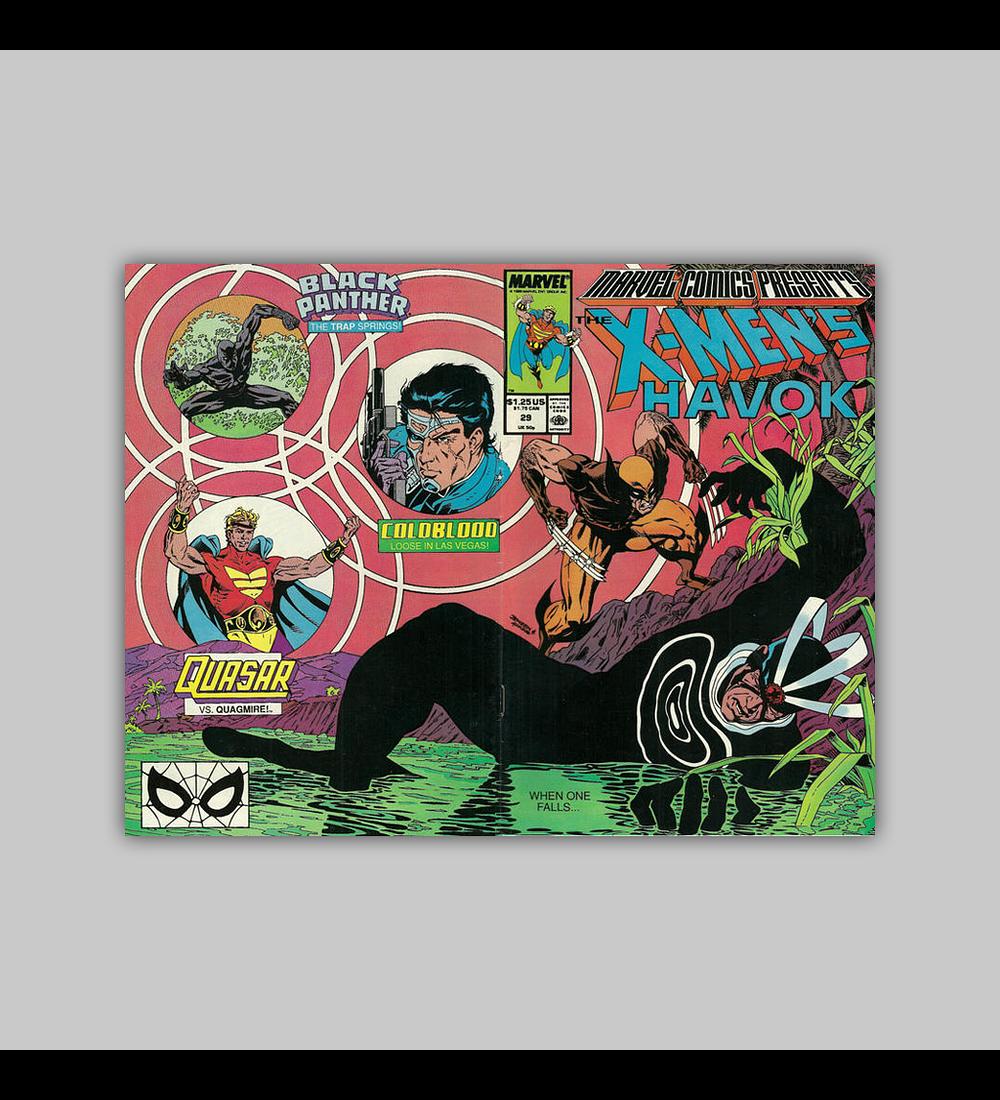 Marvel Comics Presents 29 1989