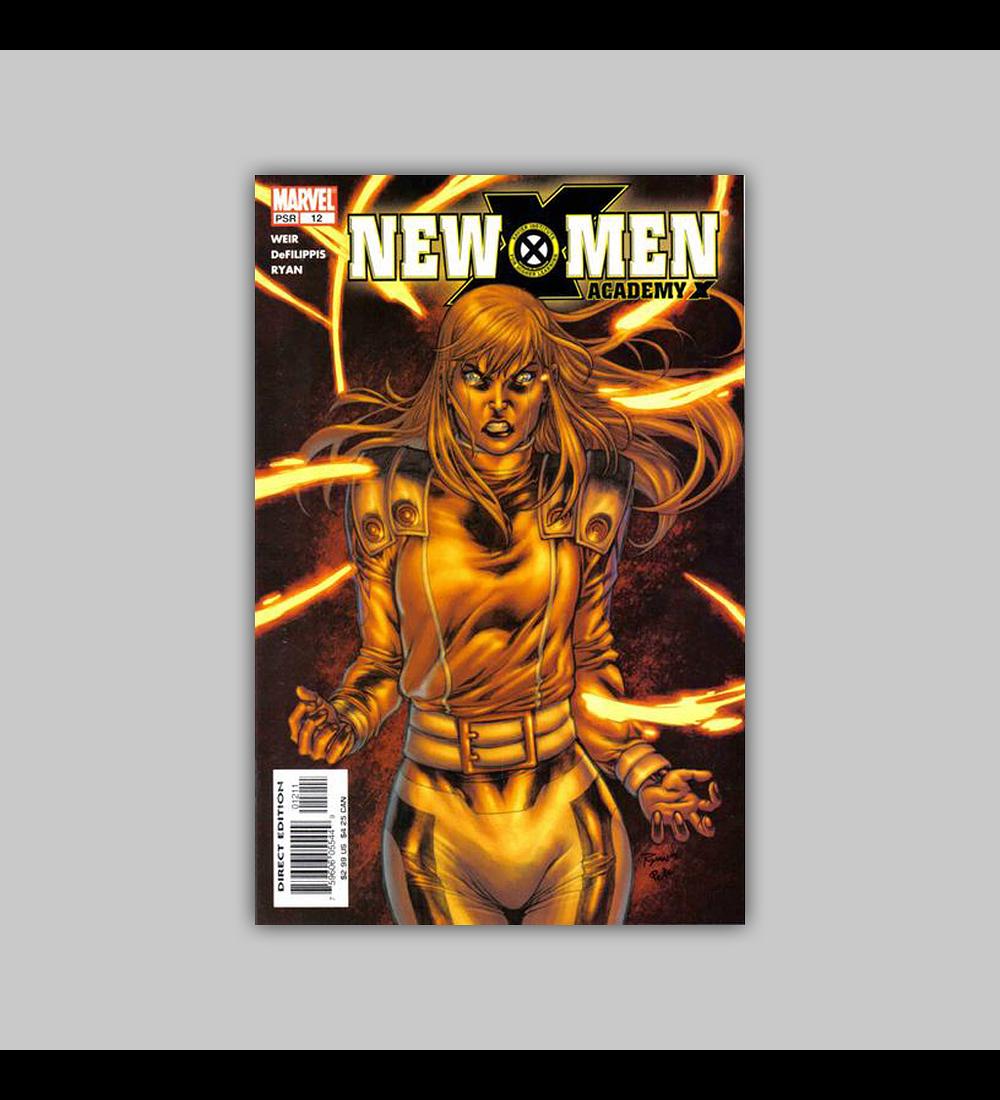 New X-Men: Academy X 12 2005