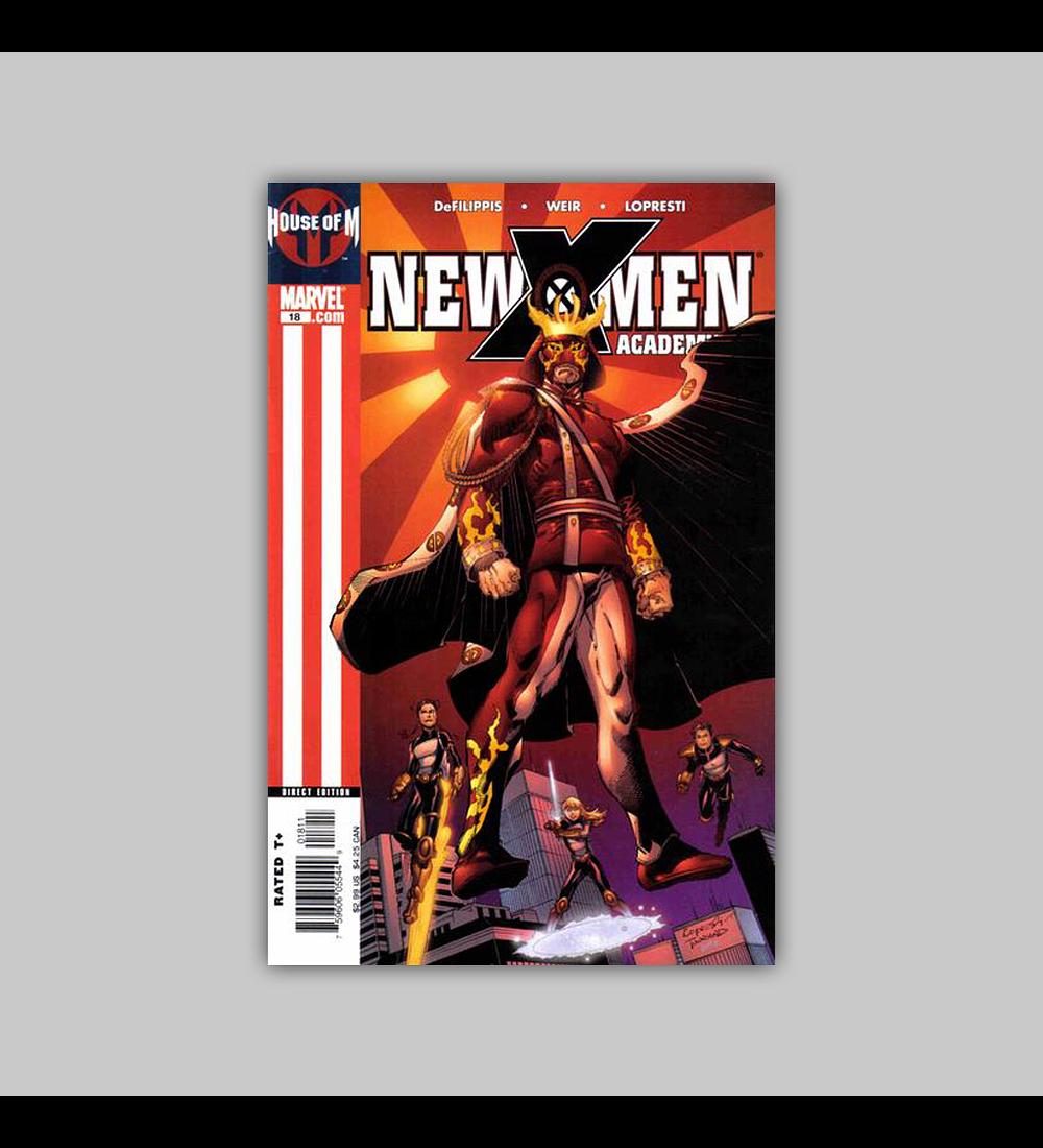 New X-Men: Academy X 18 2005