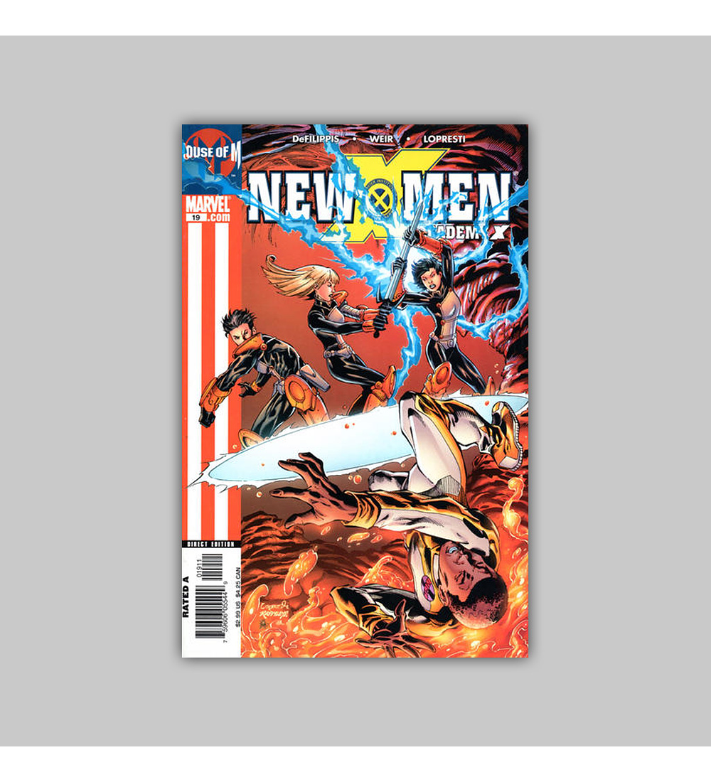 New X-Men: Academy X 19 2005