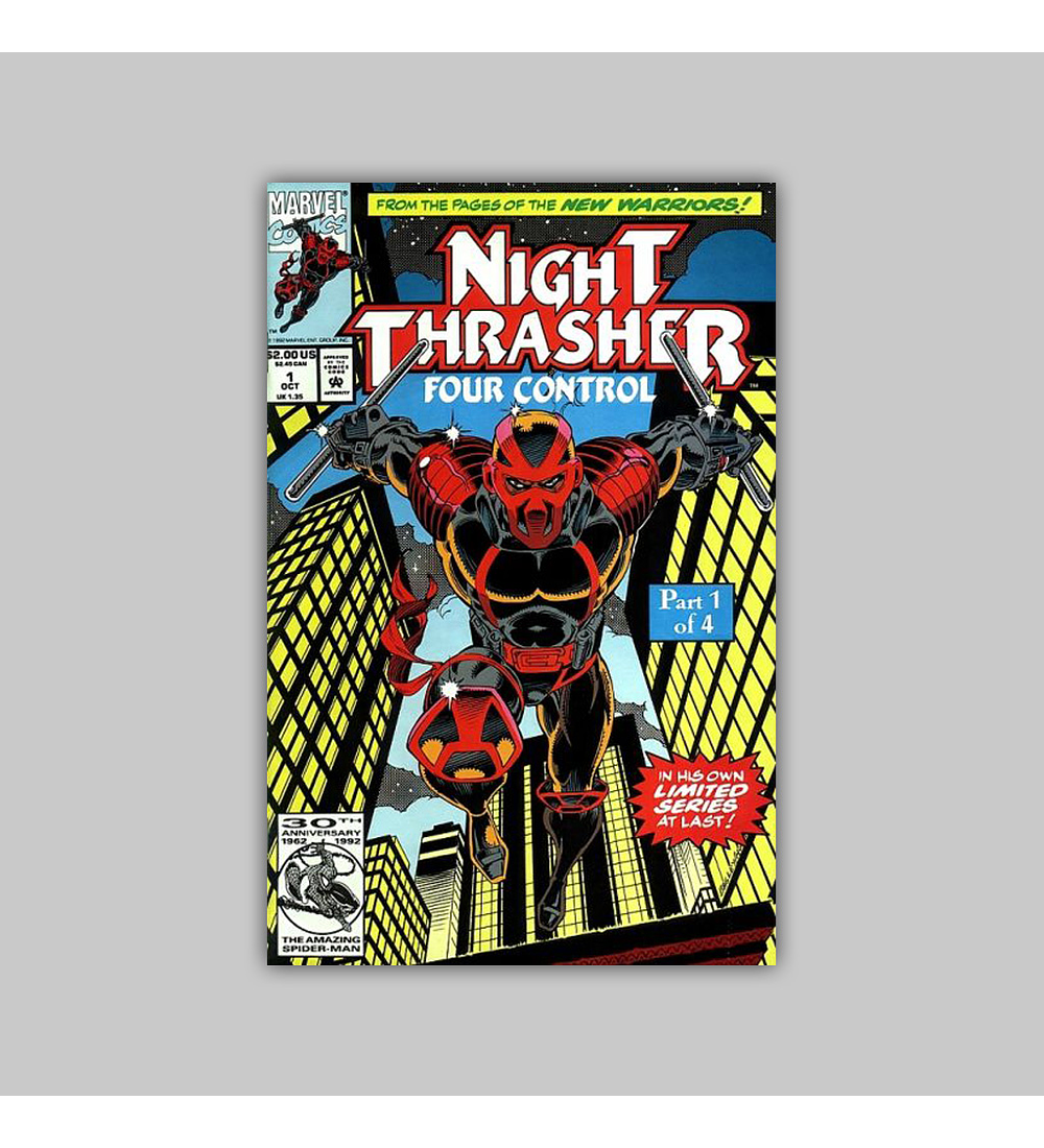 Night Thrasher: Four Control (complete limited series) 1992
