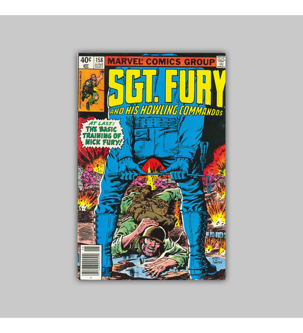 Sgt. Fury and His Howling Commandos 158 VF (8.0) 1980