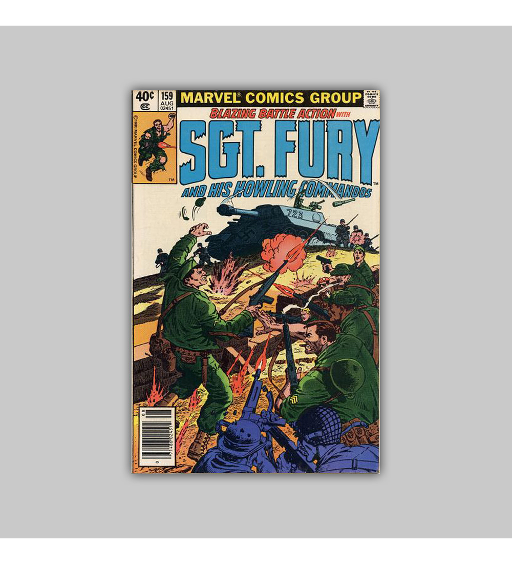 Sgt. Fury and His Howling Commandos 159 VF (8.0) 1980