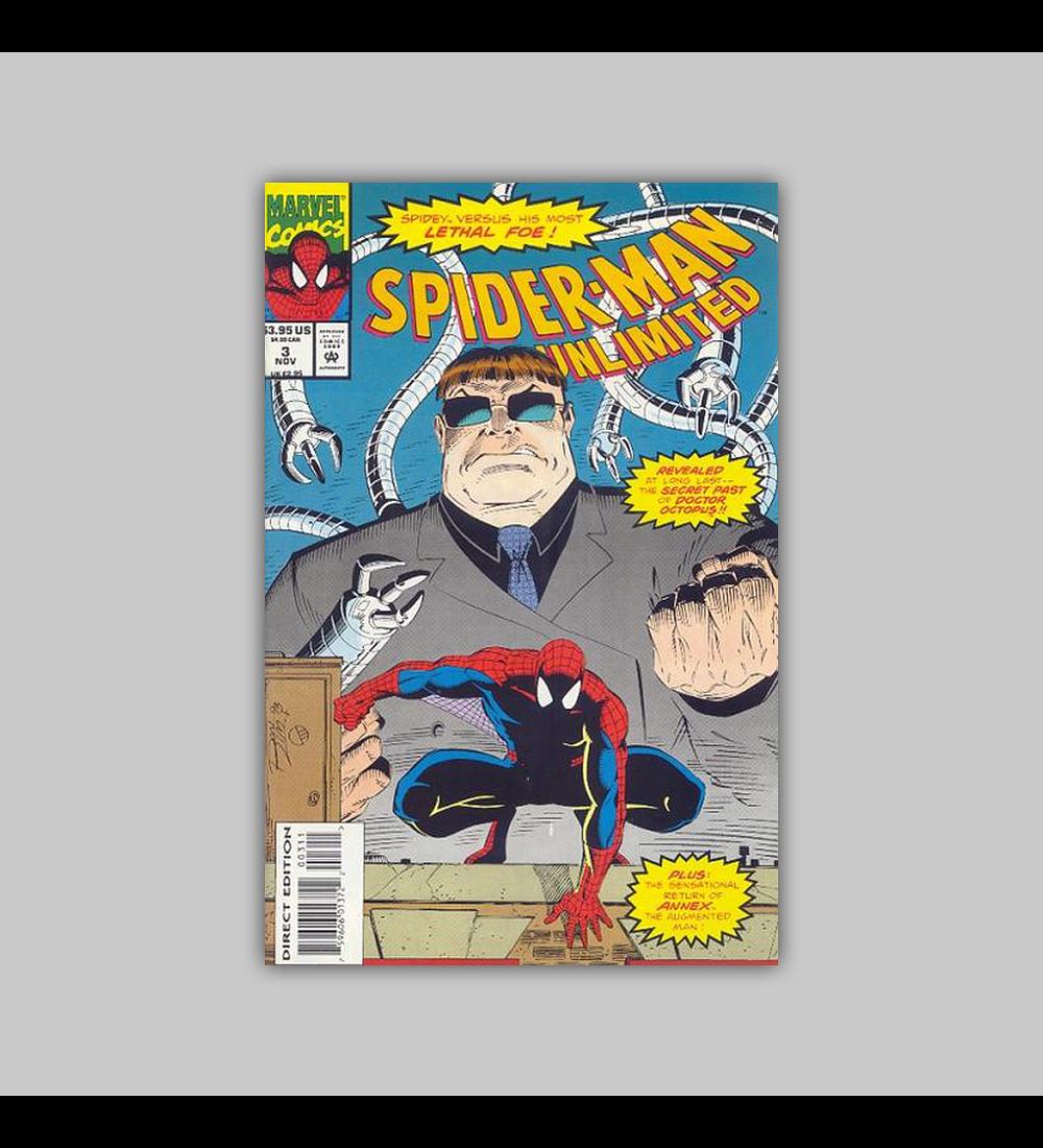 Spider-Man Unlimited 3 1993