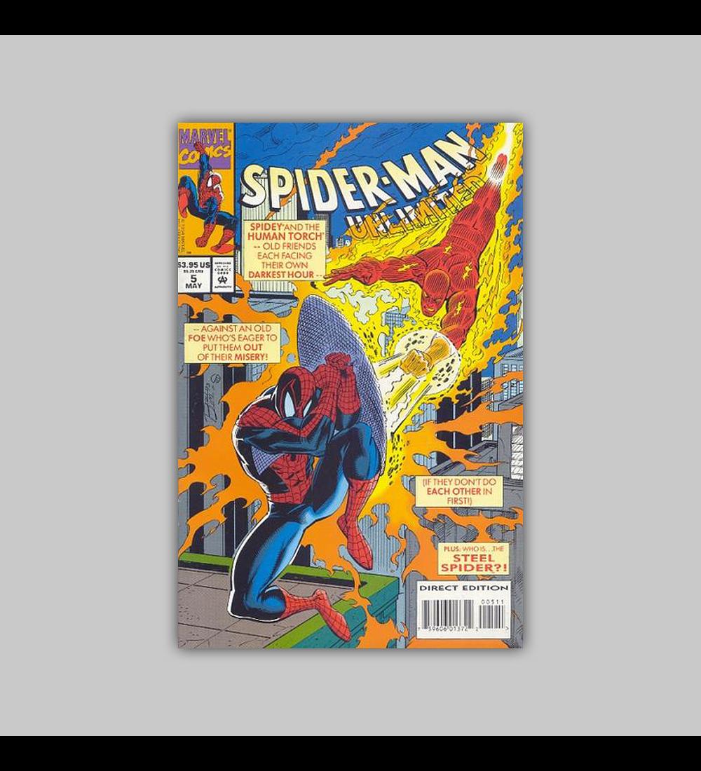 Spider-Man Unlimited 5 1994