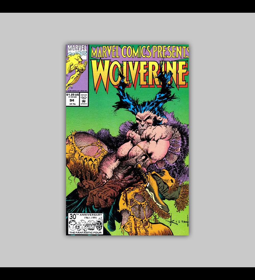 Marvel Comics Presents 94 1991