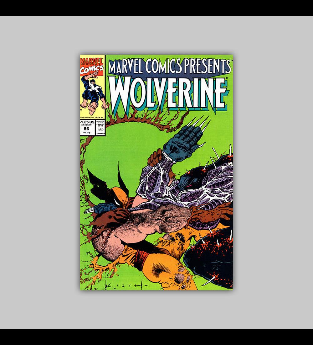 Marvel Comics Presents 86 1991