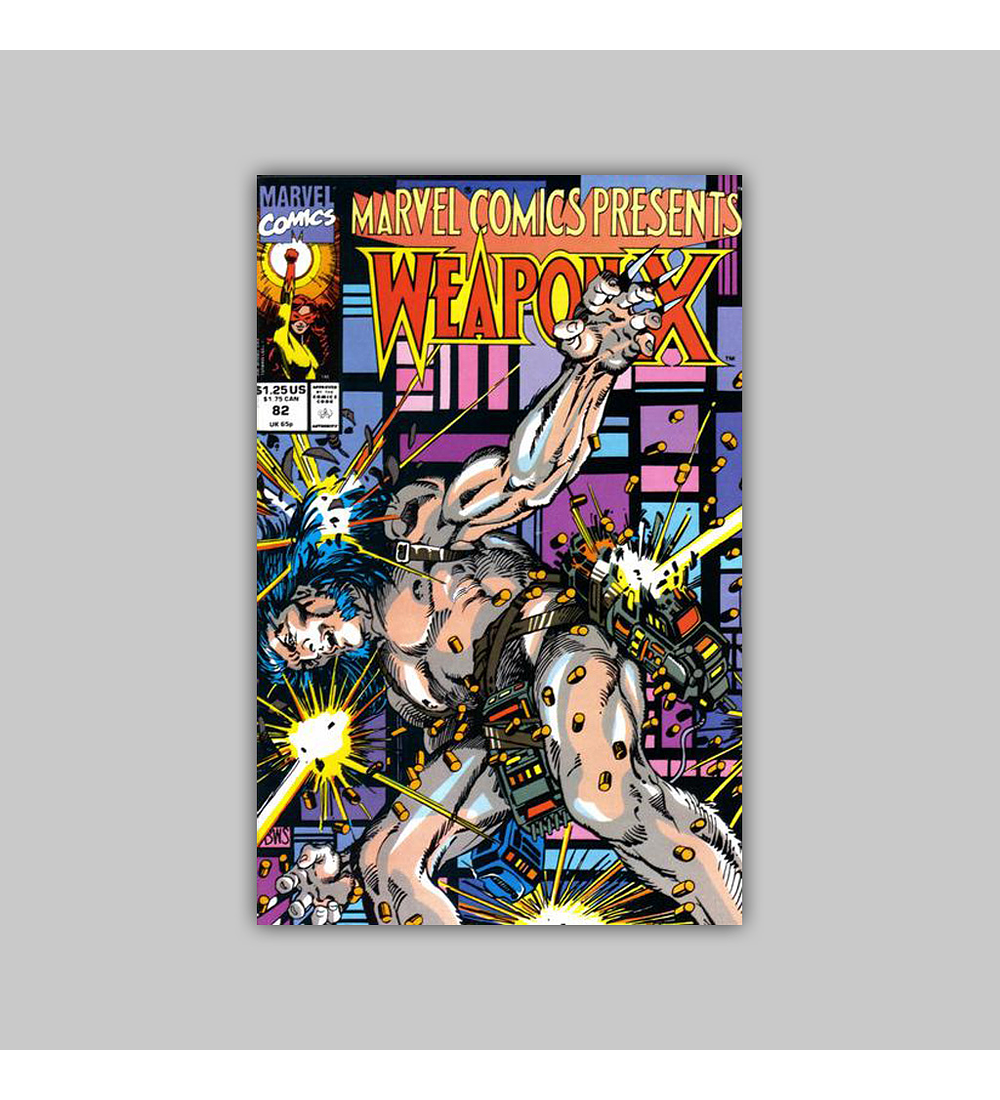 Marvel Comics Presents 82 1991