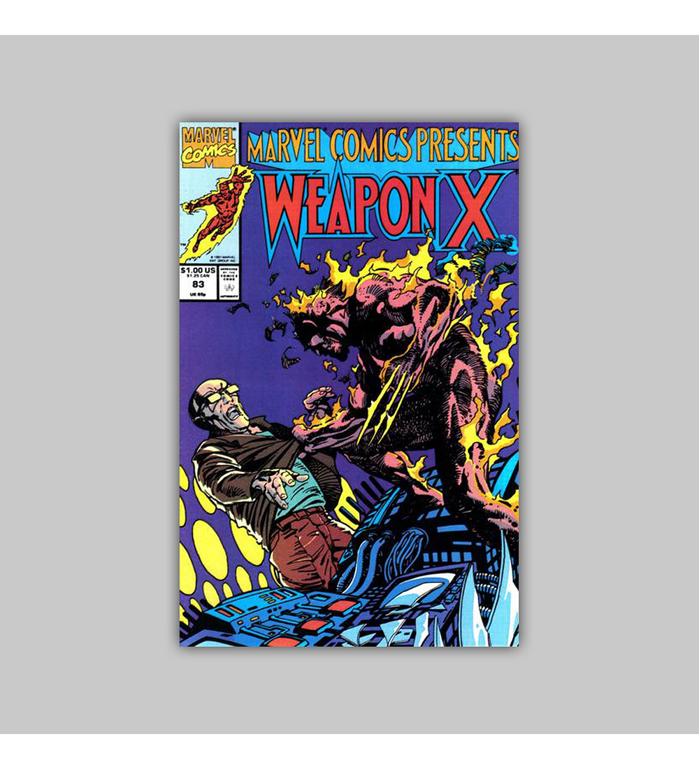 Marvel Comics Presents 83 1991