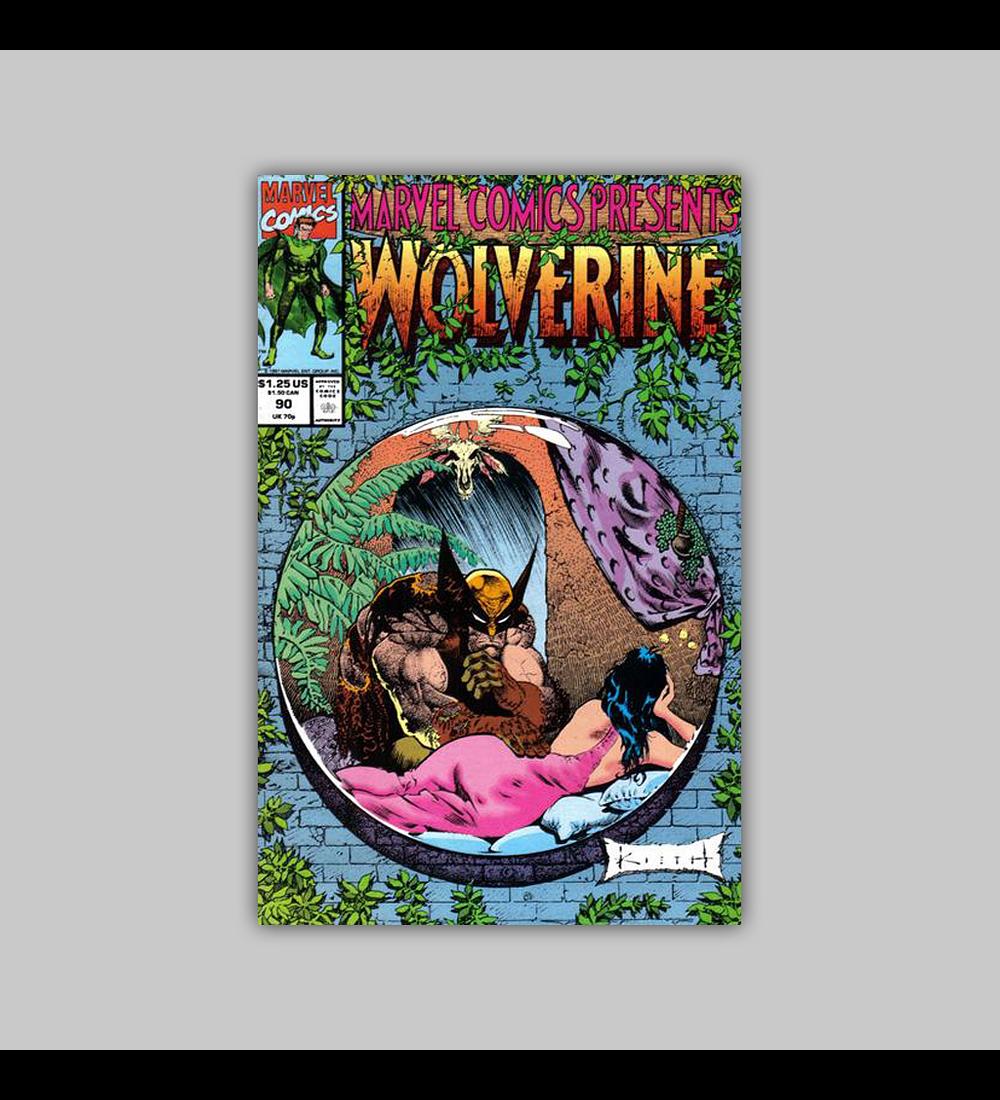 Marvel Comics Presents 90 1991