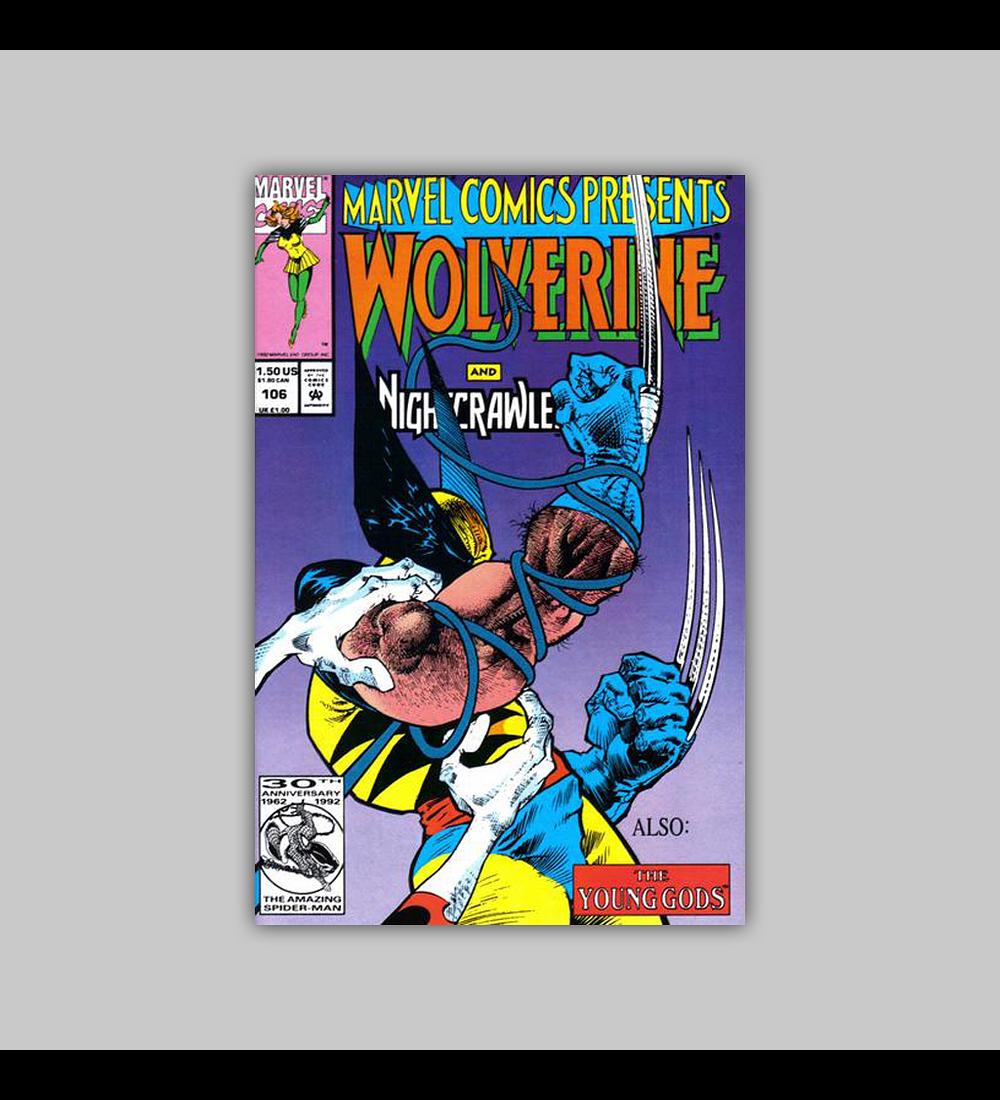 Marvel Comics Presents 106 1992