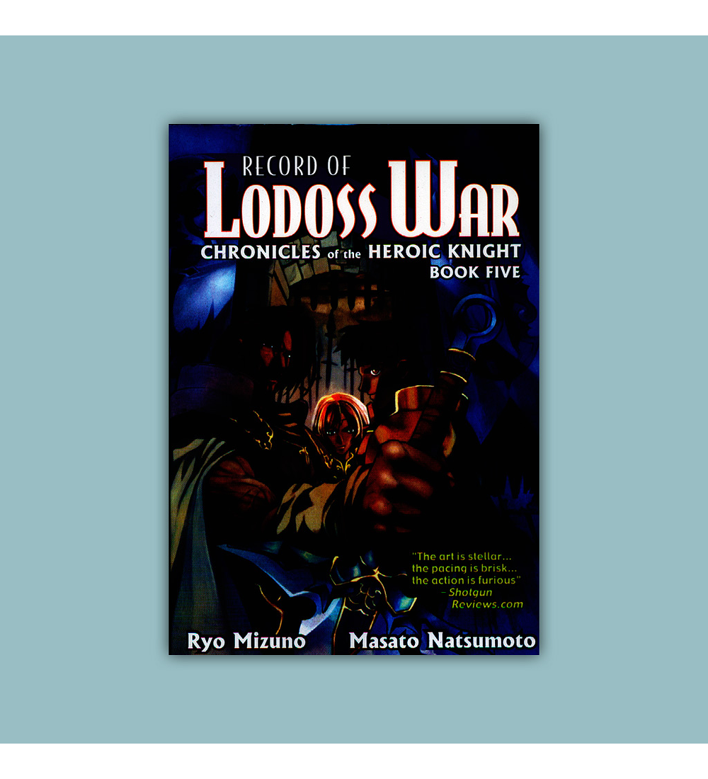 Record of Lodoss War: Chronicles of the Heroic Knight Vol. 05 2003