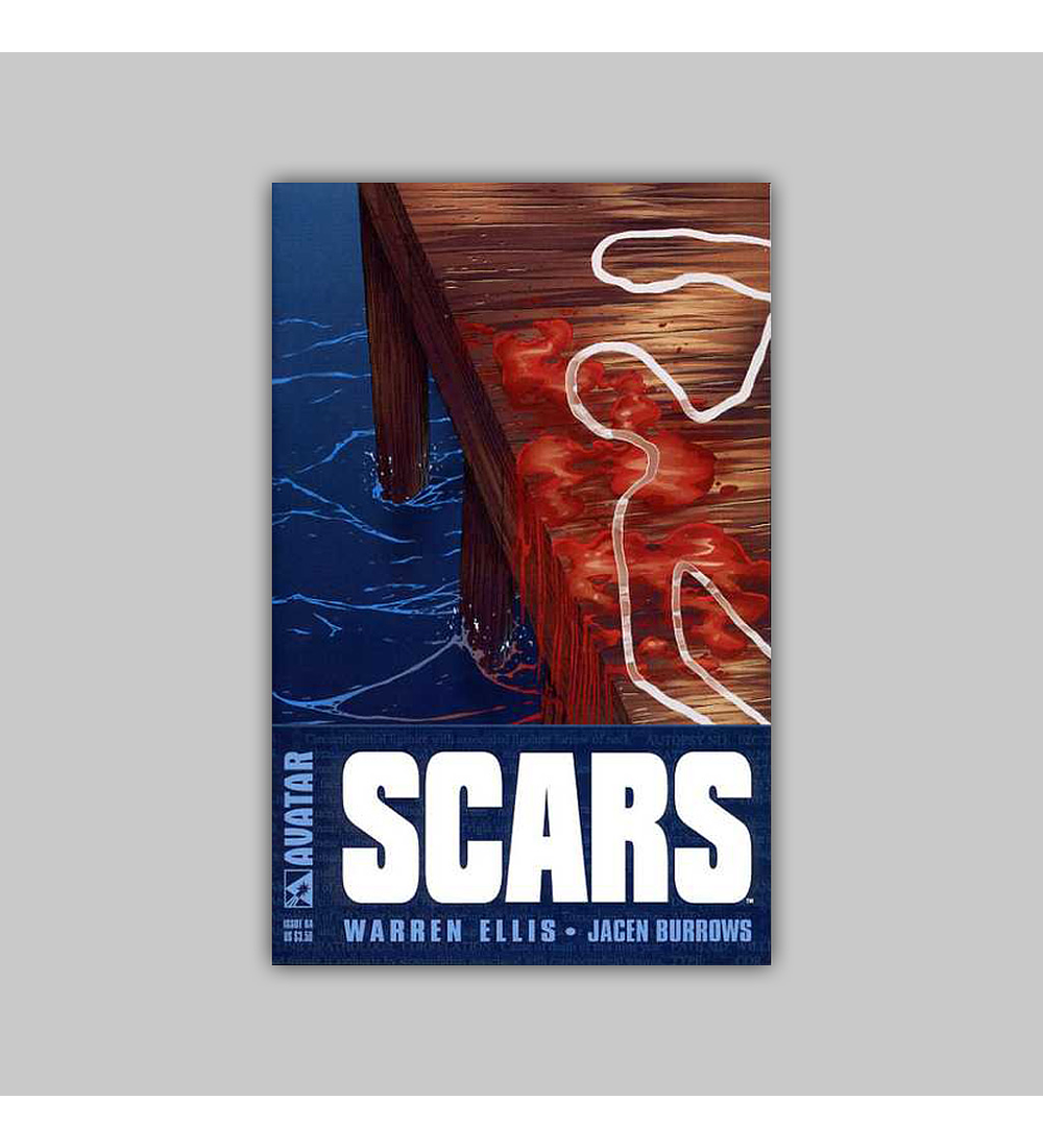 Warren Ellis' Scars 6 B 2003