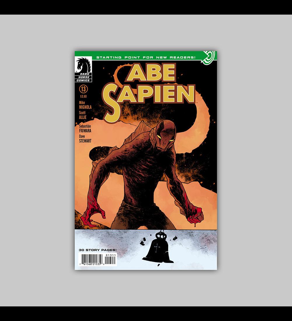 Abe Sapien 13 2014