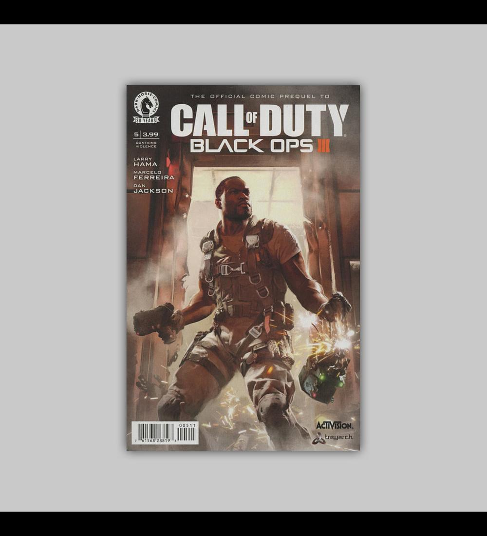 Call of Duty: Black Ops III 5 2016