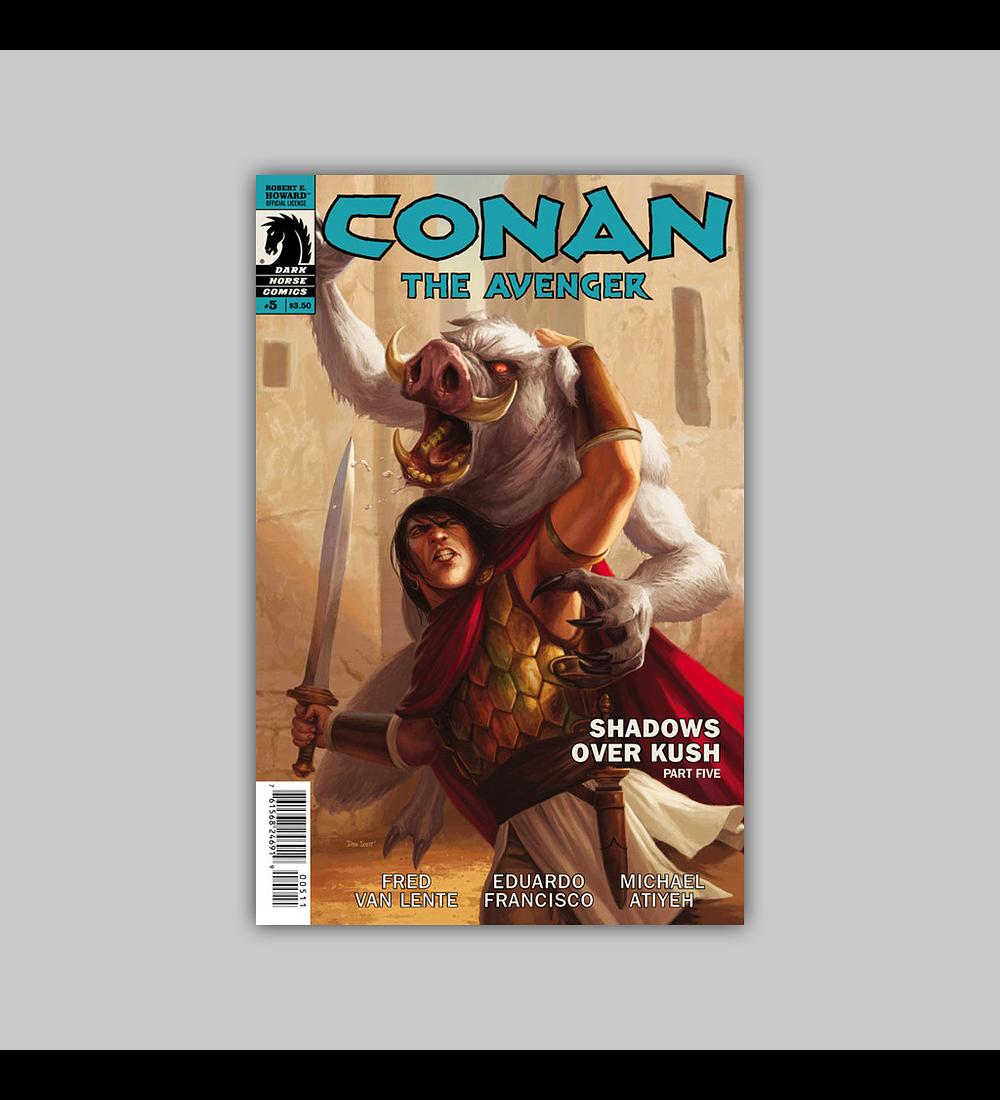 Conan: Avenger 5 2014