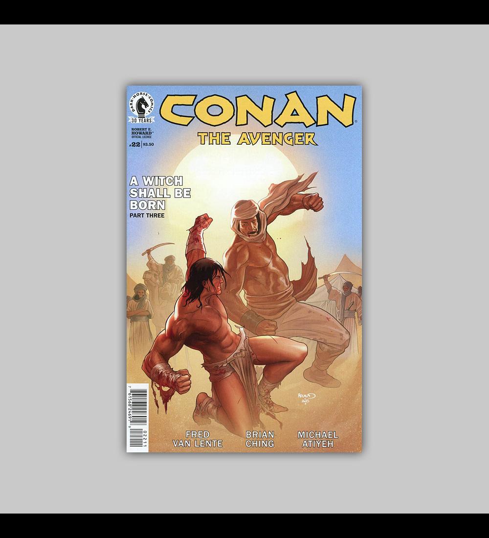Conan: Avenger 22 2016