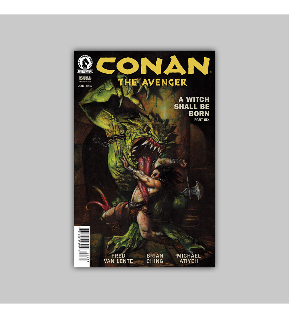 Conan: Avenger 25 2016