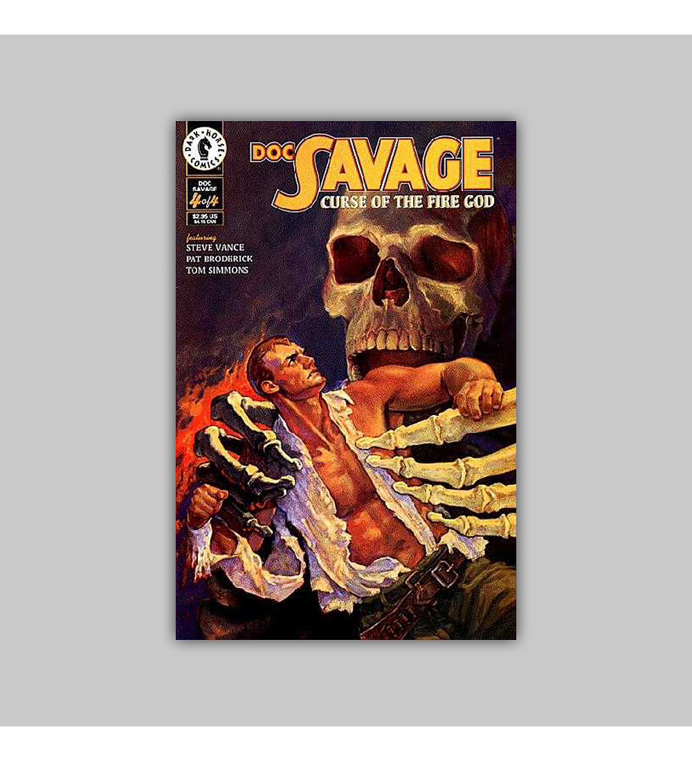 Doc Savage: Curse of the Fire God (complete limited series) 1995