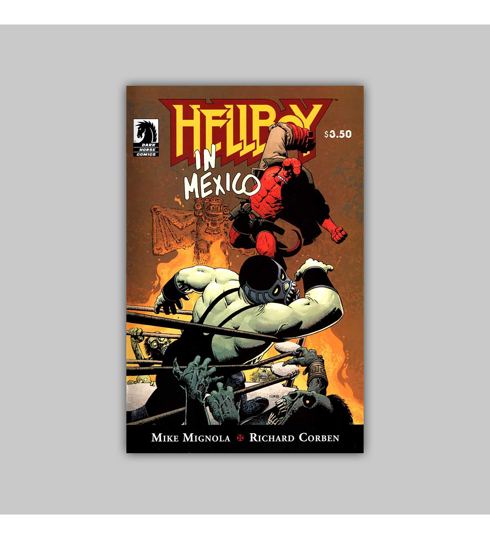 Hellboy in Mexico 2010