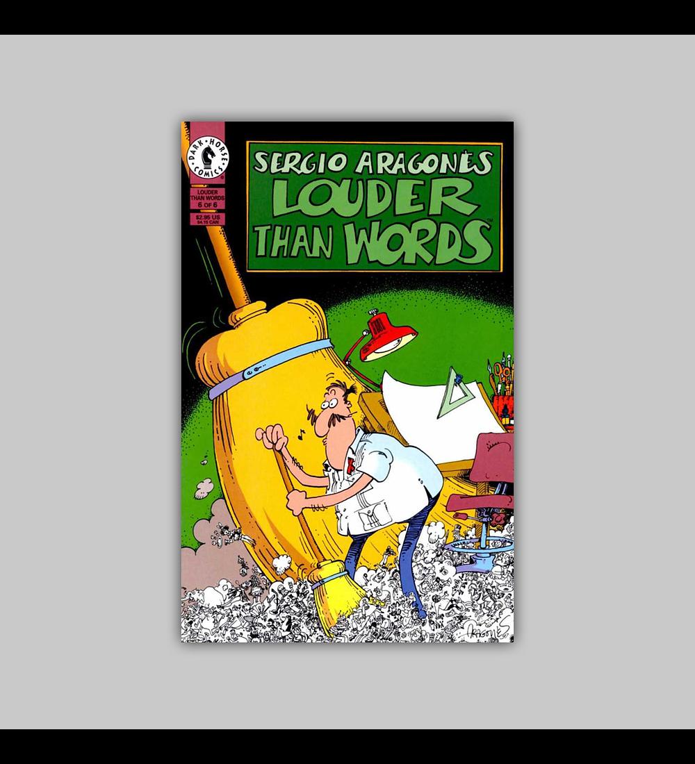 Sergio Aragones' Louder Than Words 6 1997