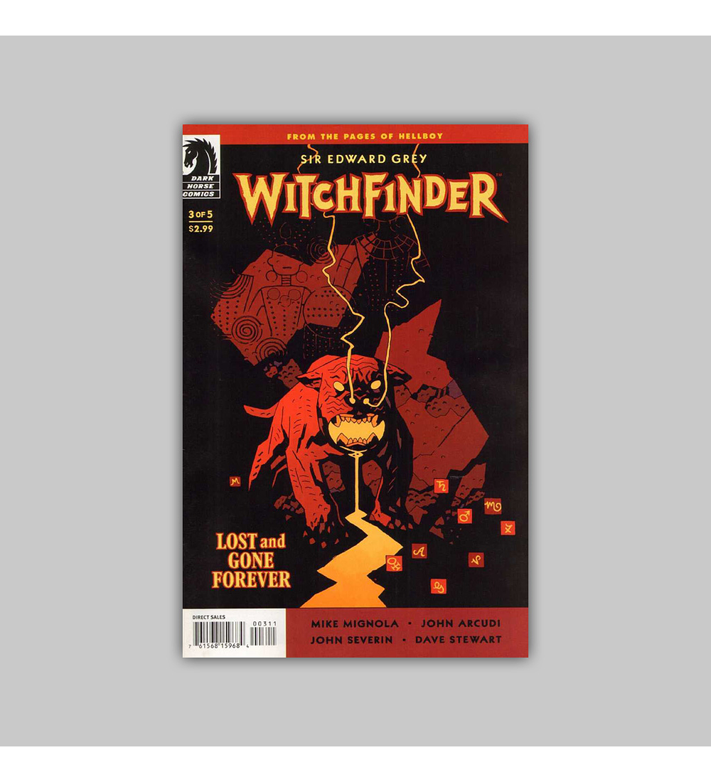 Witchfinder: Lost and Gone Forever 3 2011