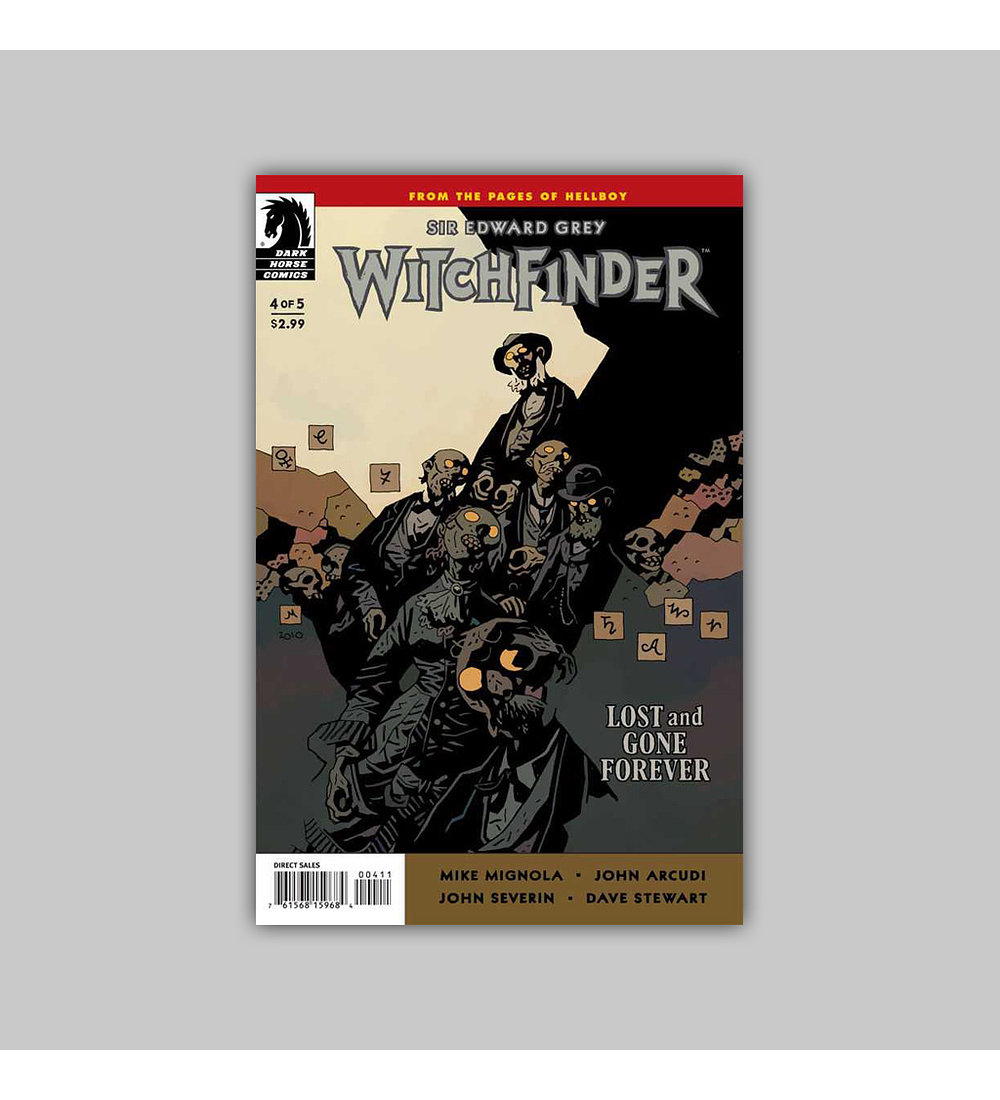 Witchfinder: Lost and Gone Forever 4 2011