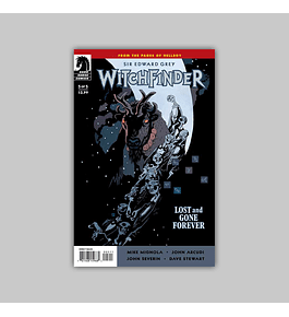 Witchfinder: Lost and Gone Forever 5 2011