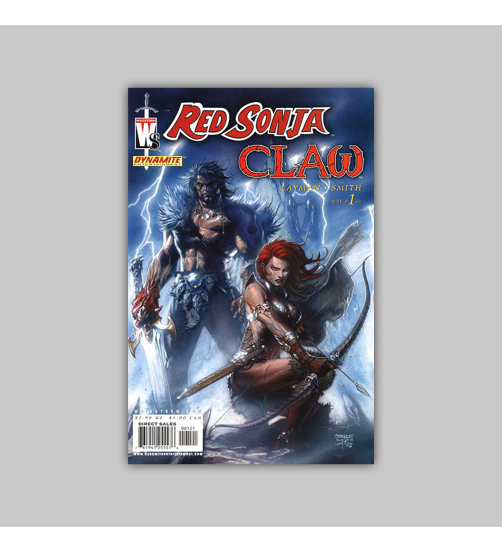Red Sonja/Claw the Unconquered: Devil's Hand 1 2006