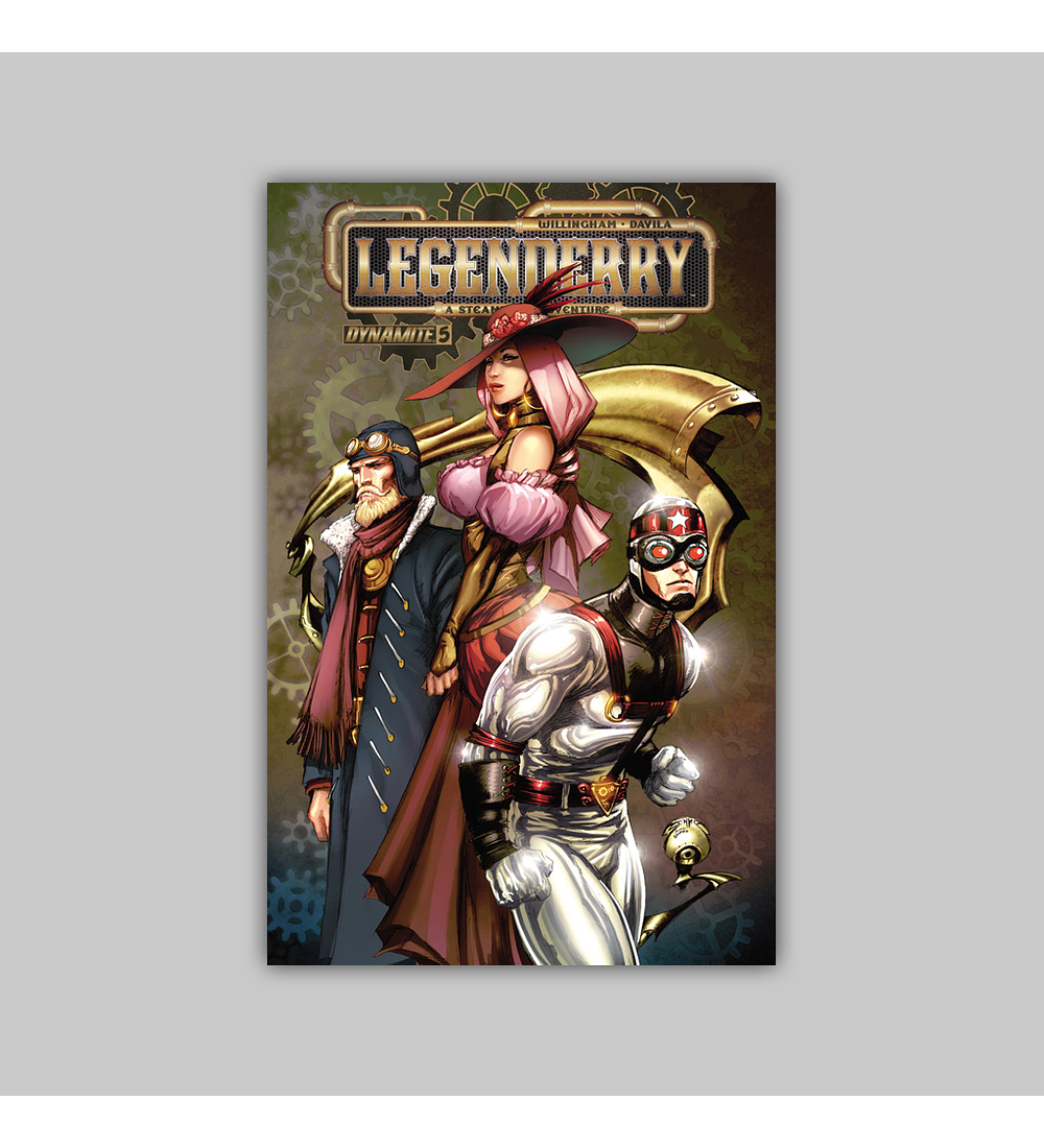 Legenderry: A Steampunk Adventure 5 2014
