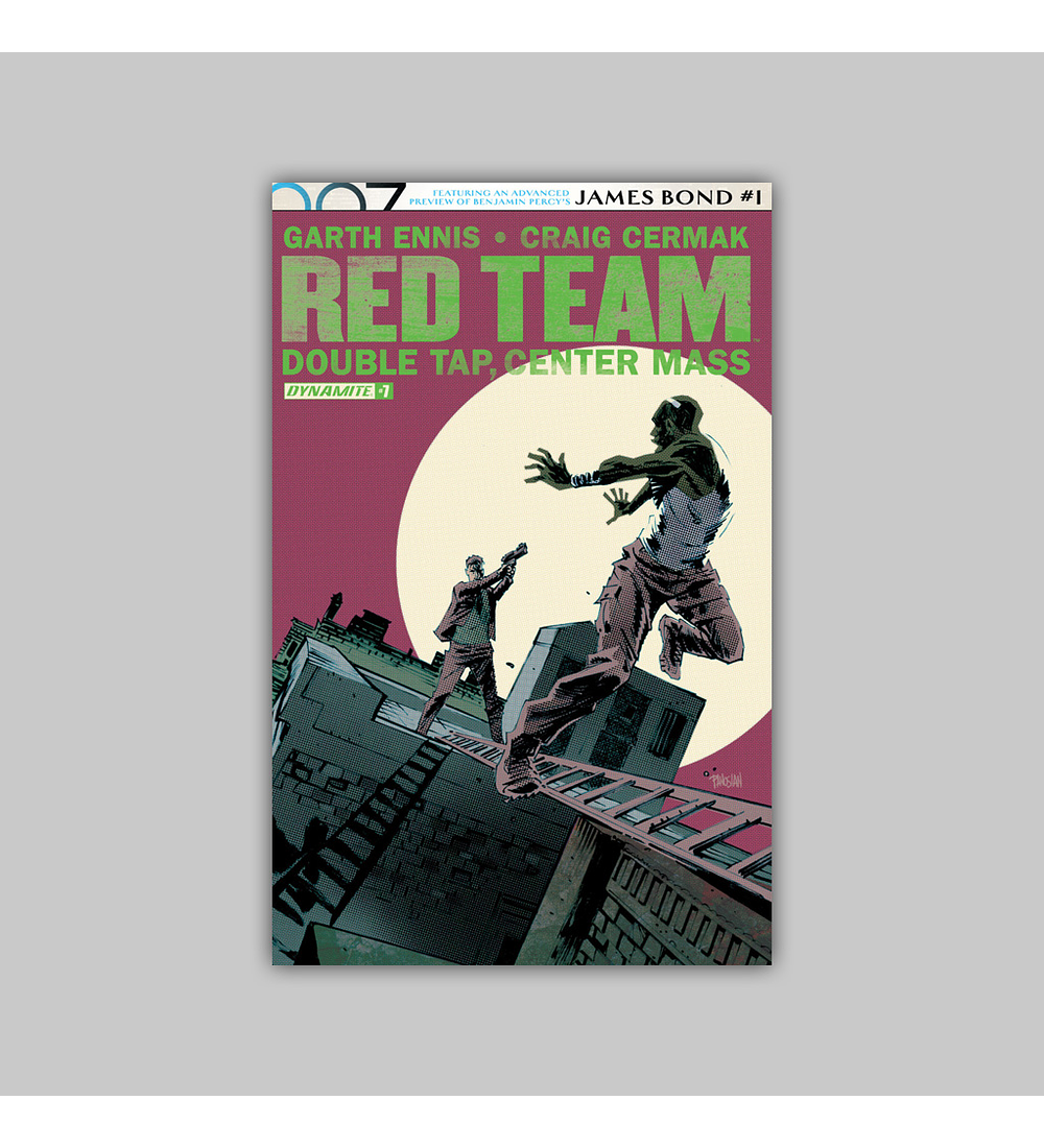 Red Team: Double Tap, Center Mass 7 2017